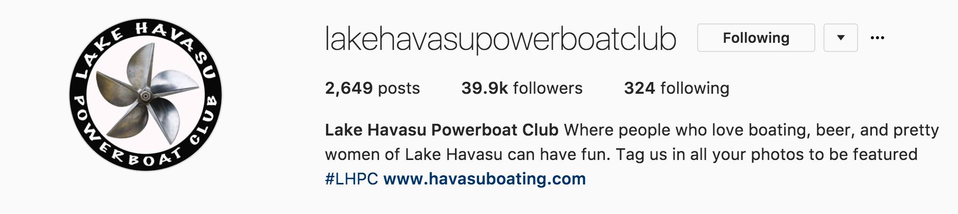 Lake Havasu Powerboat Club
