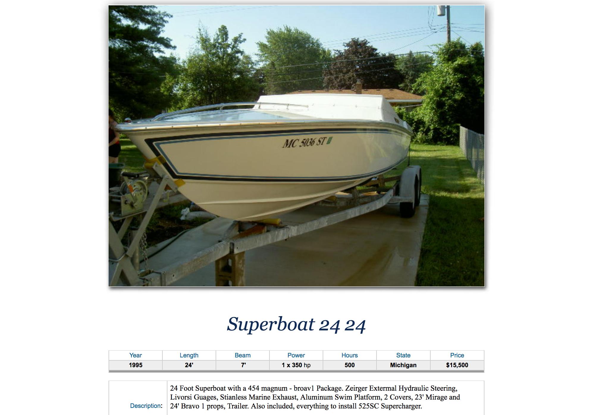 Superboat 24