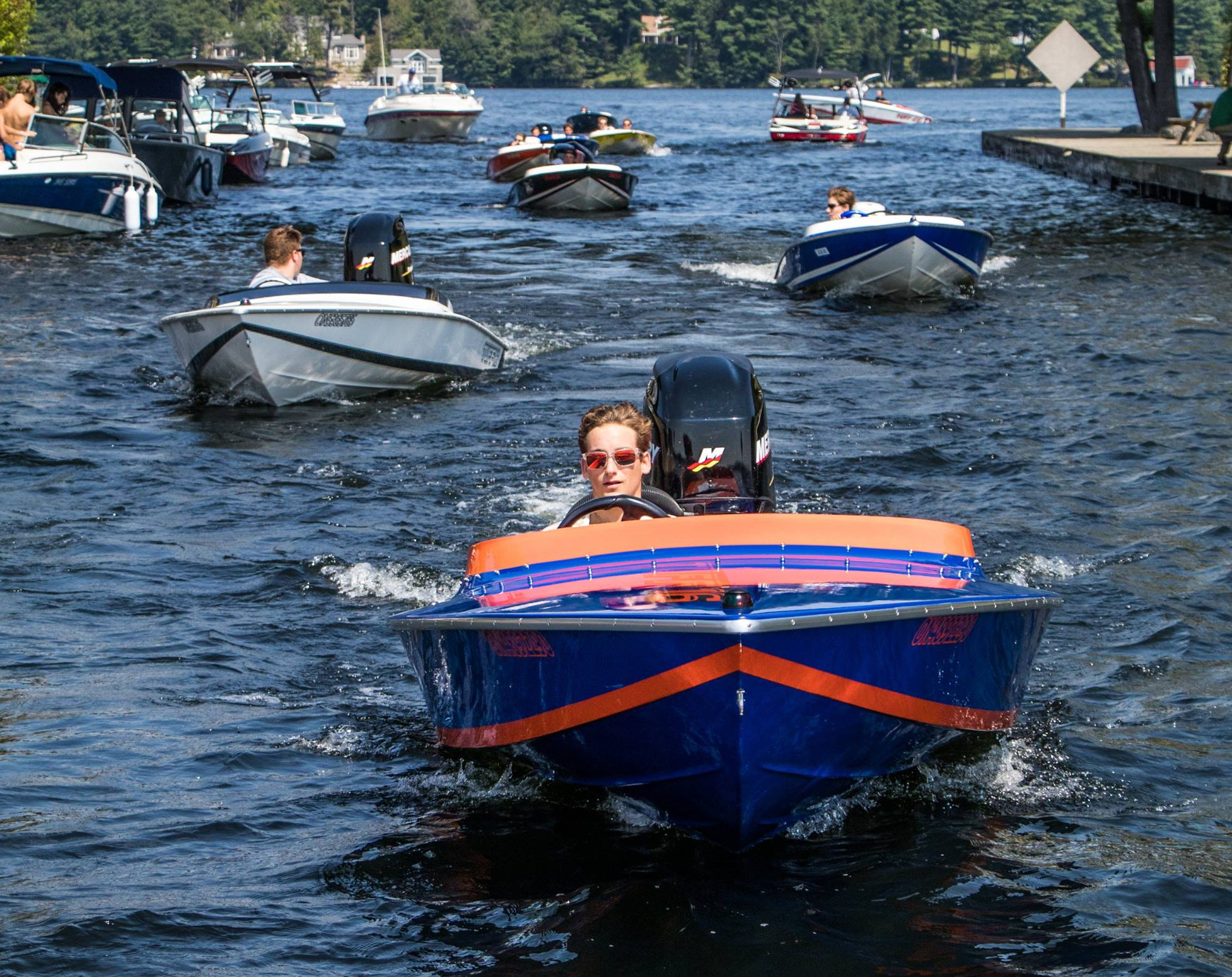 The Tuff 16 is an incredible little boat that has helped build the dedicated following Tuff Marine has. A gang of 16s seen here at a rally in Muskoka, Ontario, Canada.