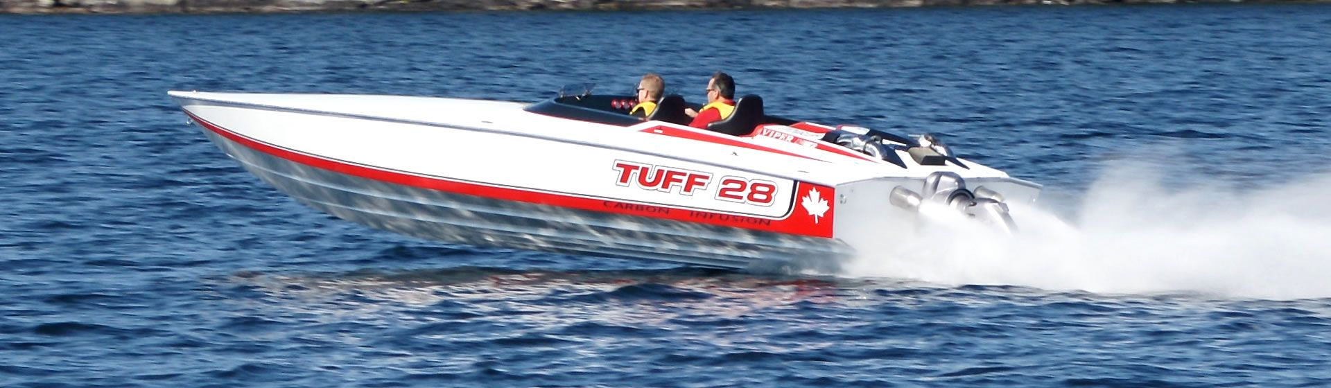 Mark's Tuff 28 recorded a 117 MPH pass at LOTO in 2016, further adjustments have it at 121 MPH with an Ilmor 725. I believe that is the fastest single engine 28 V-hull out there.