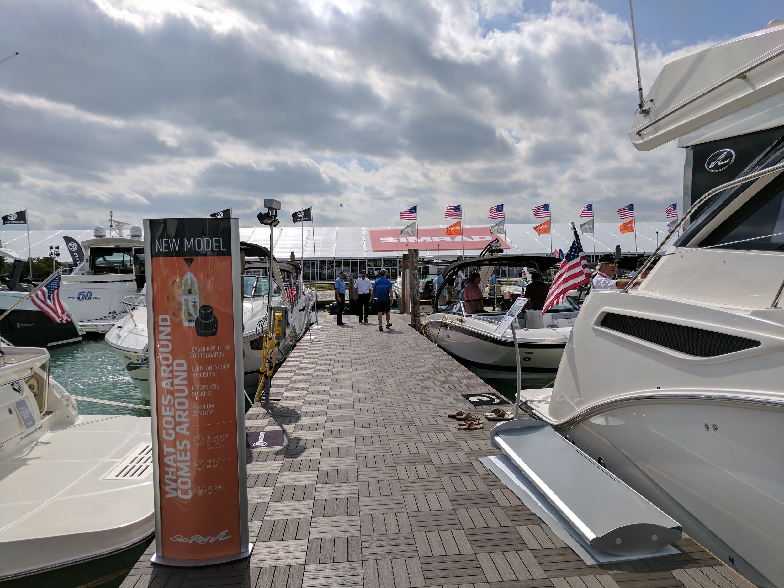 The Miami International Boat Show is one of the best boat shows in North America for the number of exhibitors and the range of boats. Great product launches happen in Miami.