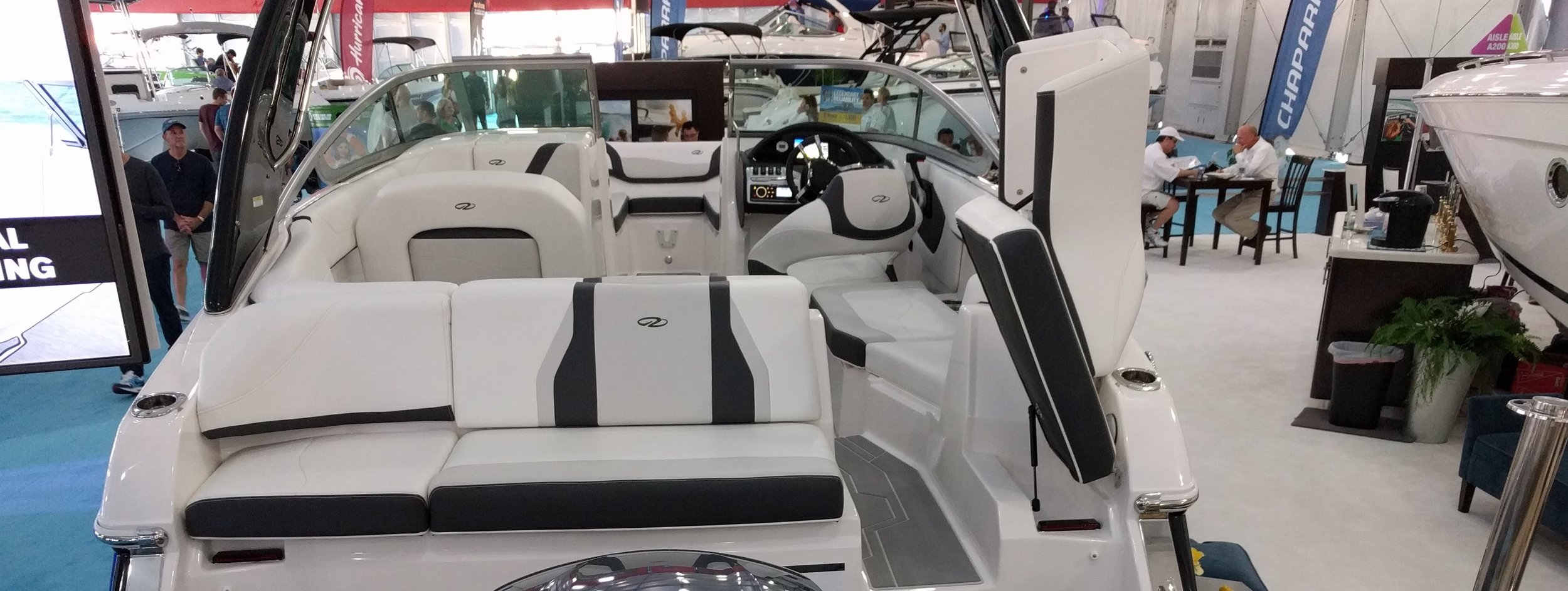 Innovation in modern family boats is seeing how many different seating arrangements you can jam into a small space. Nobody actually stands back and considers that most of the seats are in a bad position and putting 4 people in the bow isn't necessarily smart.