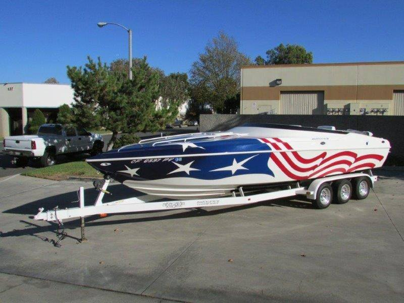 Big - The 29 is the biggest boat on the list and is a real custom boat from a great builder.