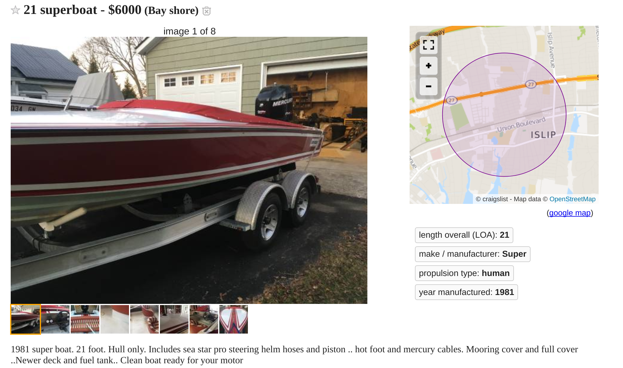 21 Superboat