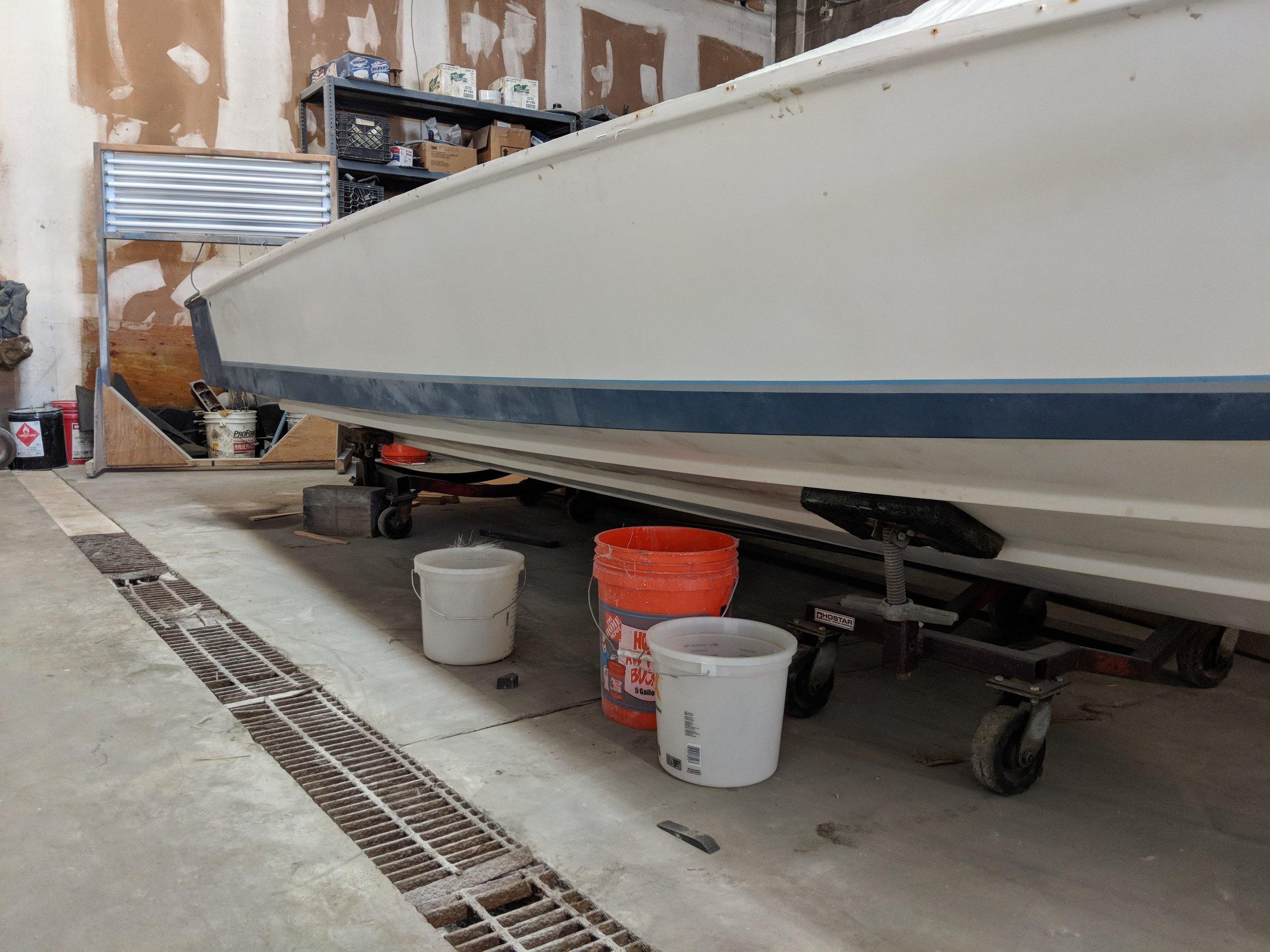 Plenty of work left. Blueprinting the hull is a critical part of the project.