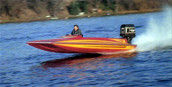 Fun - Boating is fun, just look how much fun this Hydrostream HST owner is having.