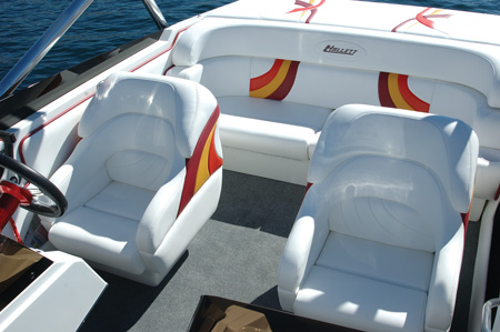 Practical - Notice all the best boats use 2 buckets and a bench, simple.