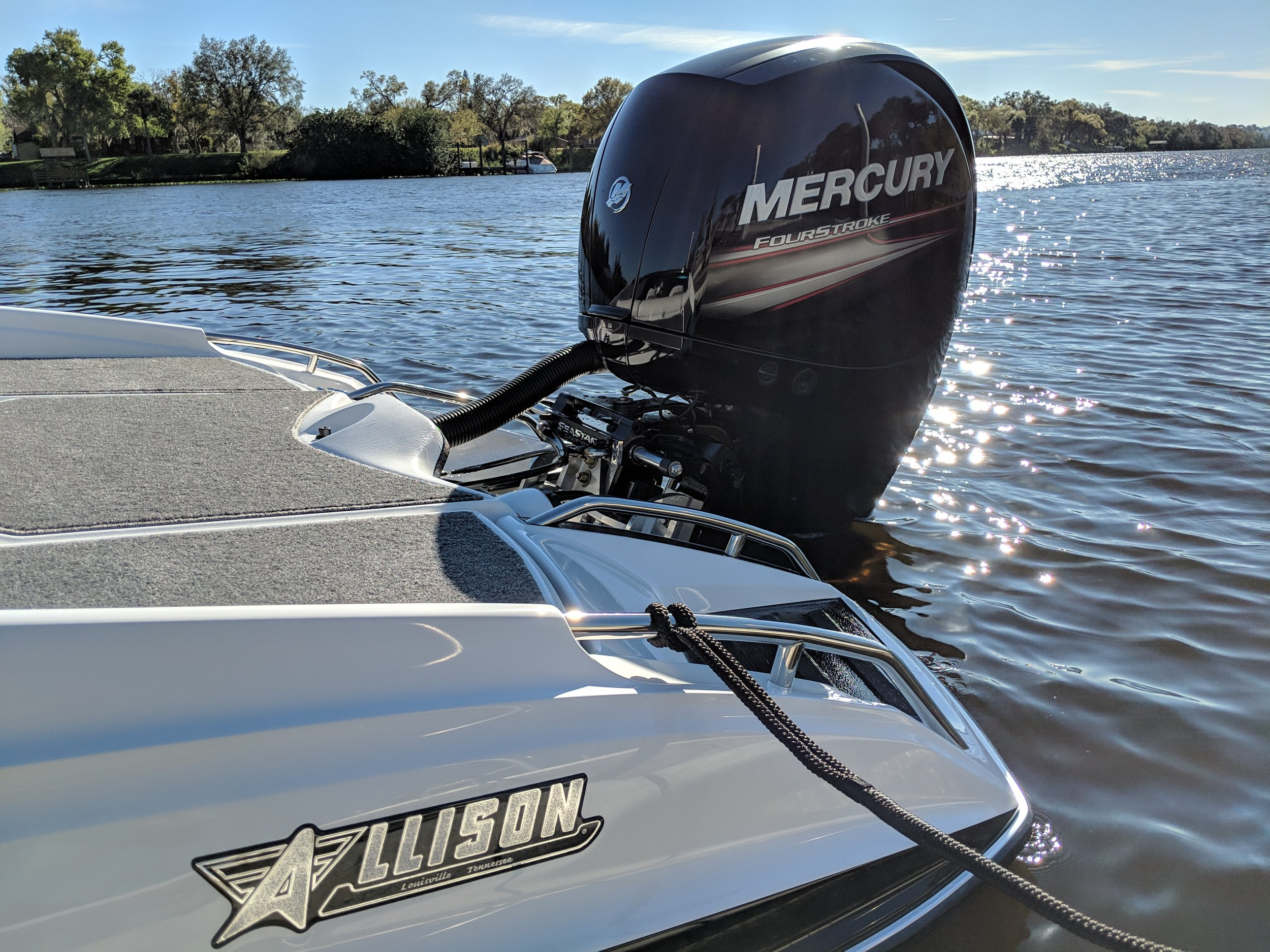 Economical - The Mercury four stroke 150 is very efficient, and easy to operate. It is slowly becoming a budget performance engine.