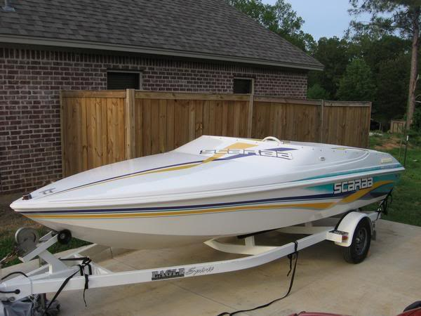 The mini jet boat craze got every manufacturer, but at least Scarab made a real boat. It was small, not great quality, but the overall design is kind of cool.