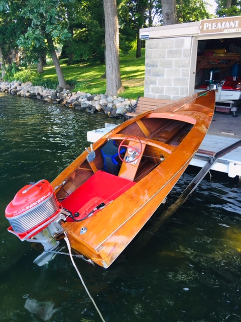 Original - This classic 1953 Switzer Craft may have started it all. Nick's family still runs it.