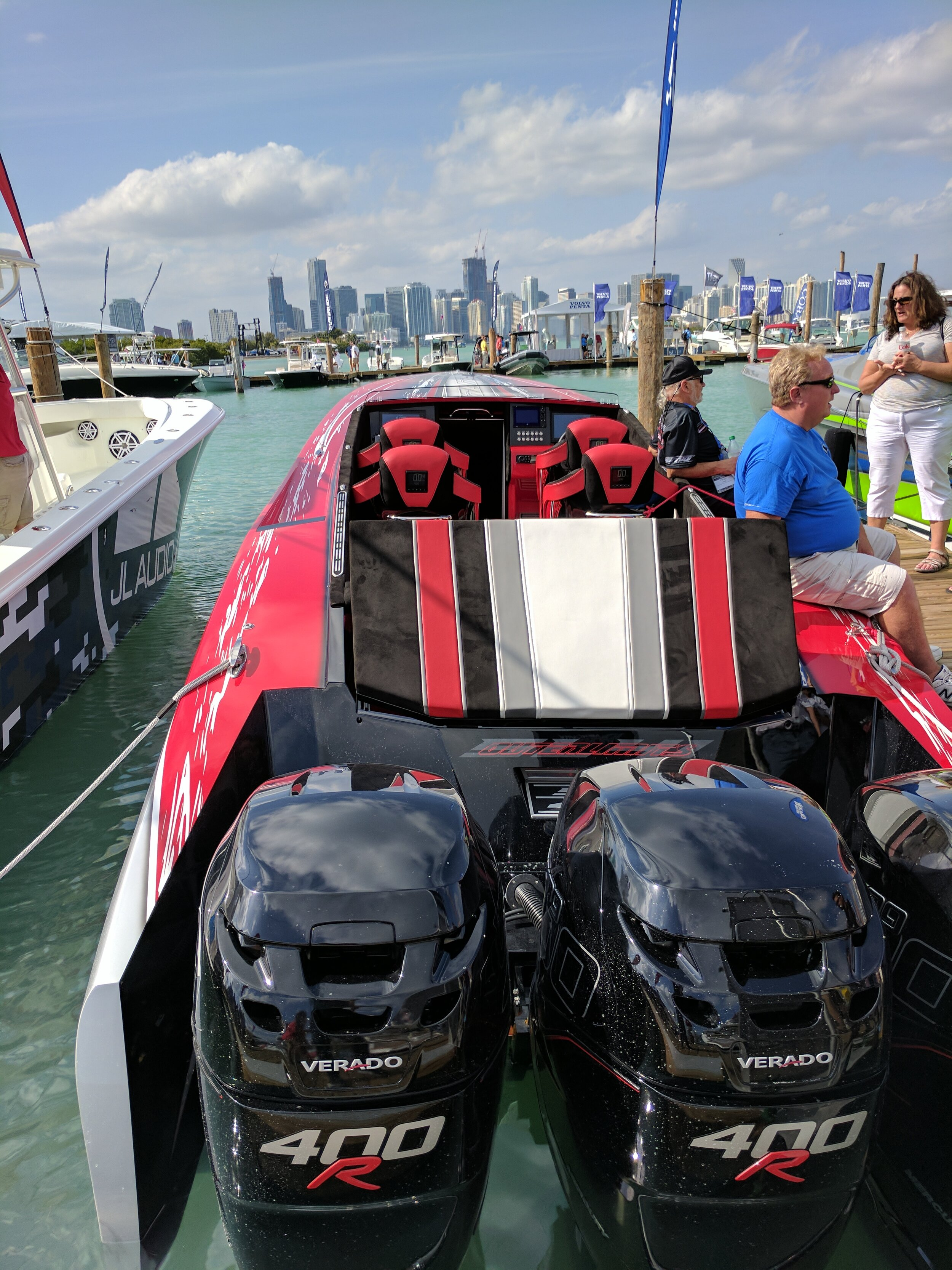 Outerlimits is really on to something with their SL-41 Outboard. Great performance, and very practical. Better seating options, offering a quiet ride, and economical to run.