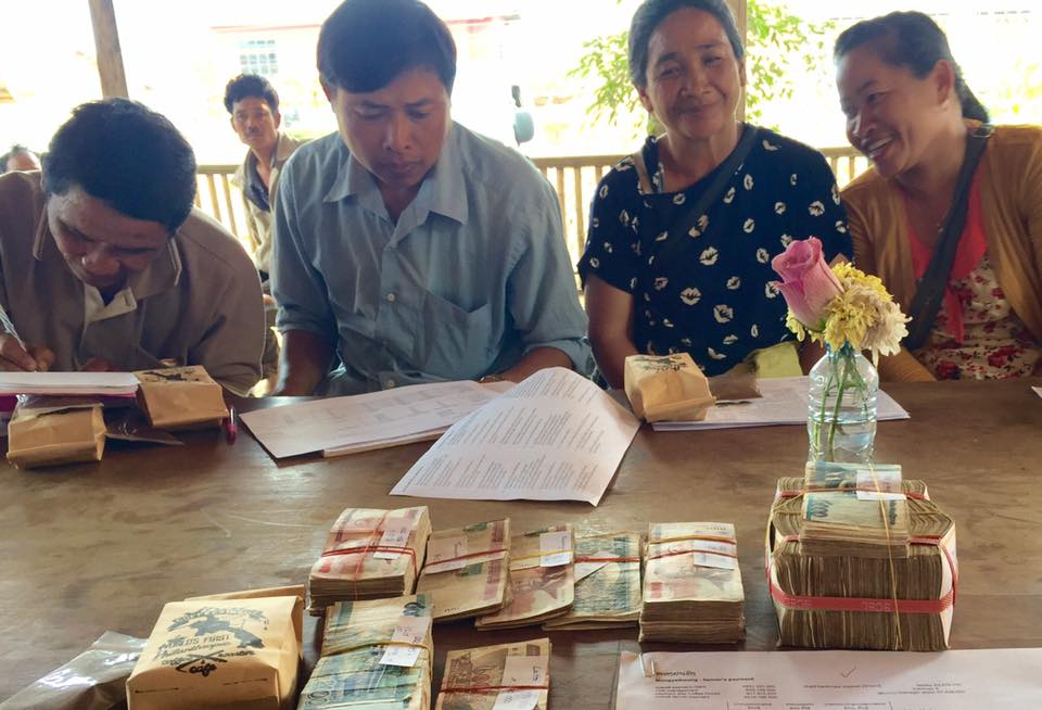 Nongya Teung village on pay day 2014/15