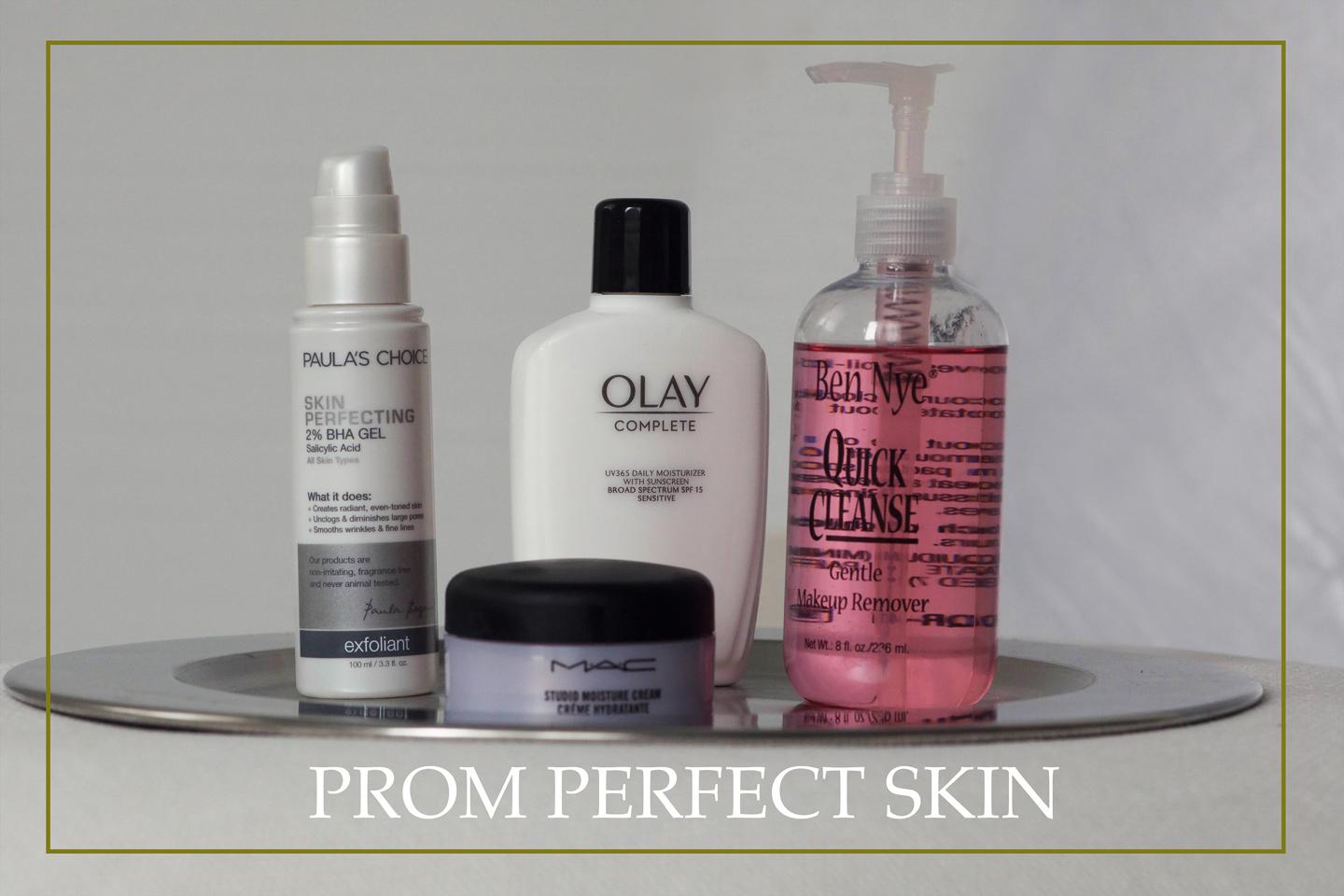 Treat your skin well for your big night!