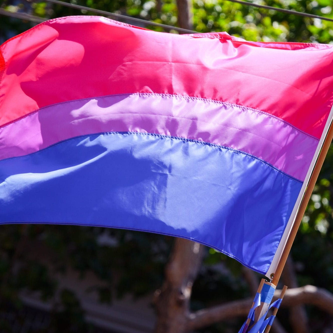 I'm a proud bi woman - And I'm actively involved in LGBTQ+ advocacy.