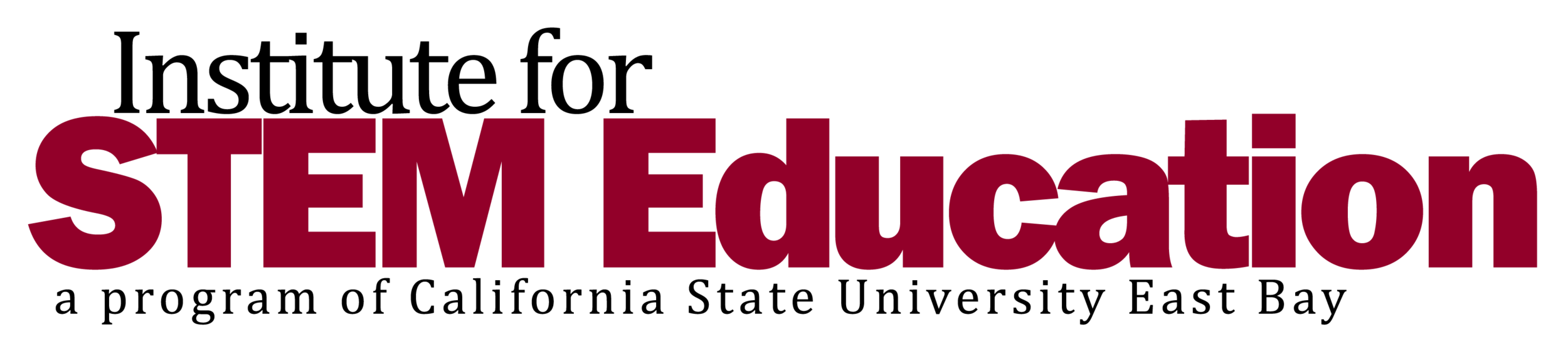 Institute for STEM Education - California State University East Bay
