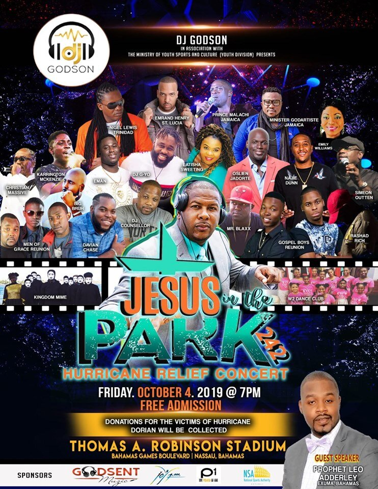 Jesus in the Park Bahamas October 4 2019 at Thomas A. Robinson Stadium Nassau Bahamas Its FREE.jpg