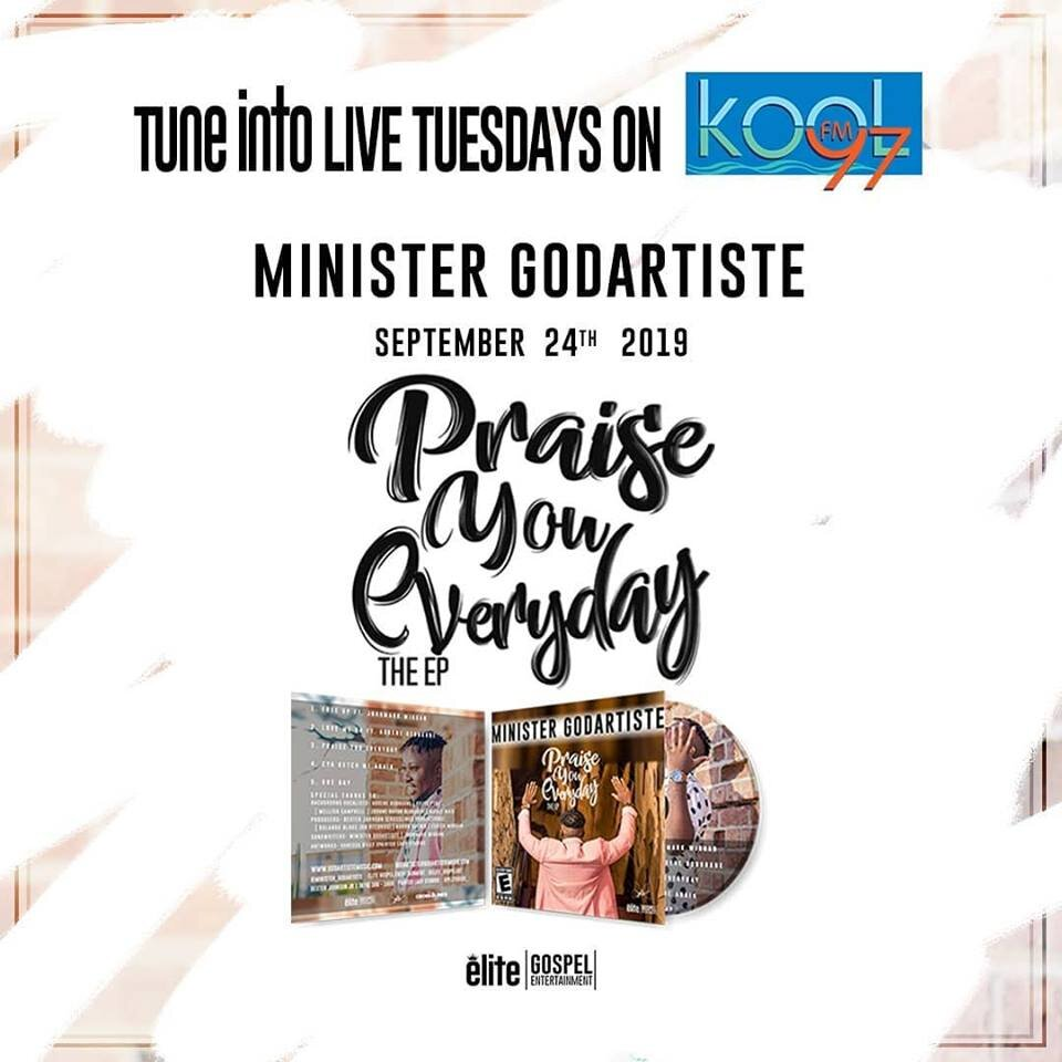 Tune in live Tuesday Kool FM Minister Godartiste September 27, 2019.jpg