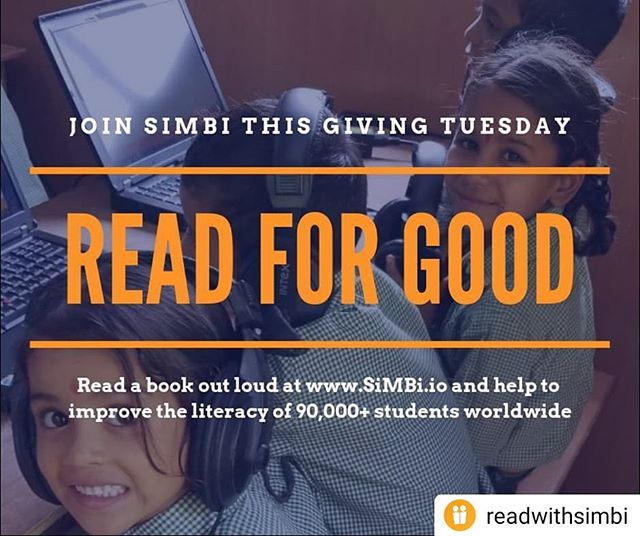 Love reading? Help kids fall in love with it too! Take 5 minutes to read a book out loud for a student in a refugee camp in Uganda.  #Repost @readwithsimbi • • • • • It's #GivingTuesday! Join us in the supporting the literacy of more than 90,000 students and #ReadForGood by taking five minutes reading a book out loud at https://app.simbi.io 📚 . #simbi #helderventures  #impactinvesting . . . #socialenterprise #madeincanada #impactventure #startuplife #vancouverstartup #e@ubc #techstartup #literacytech