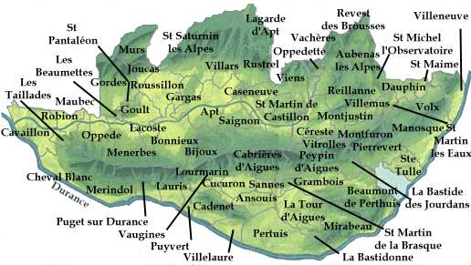 THE LUBERON VALLEY