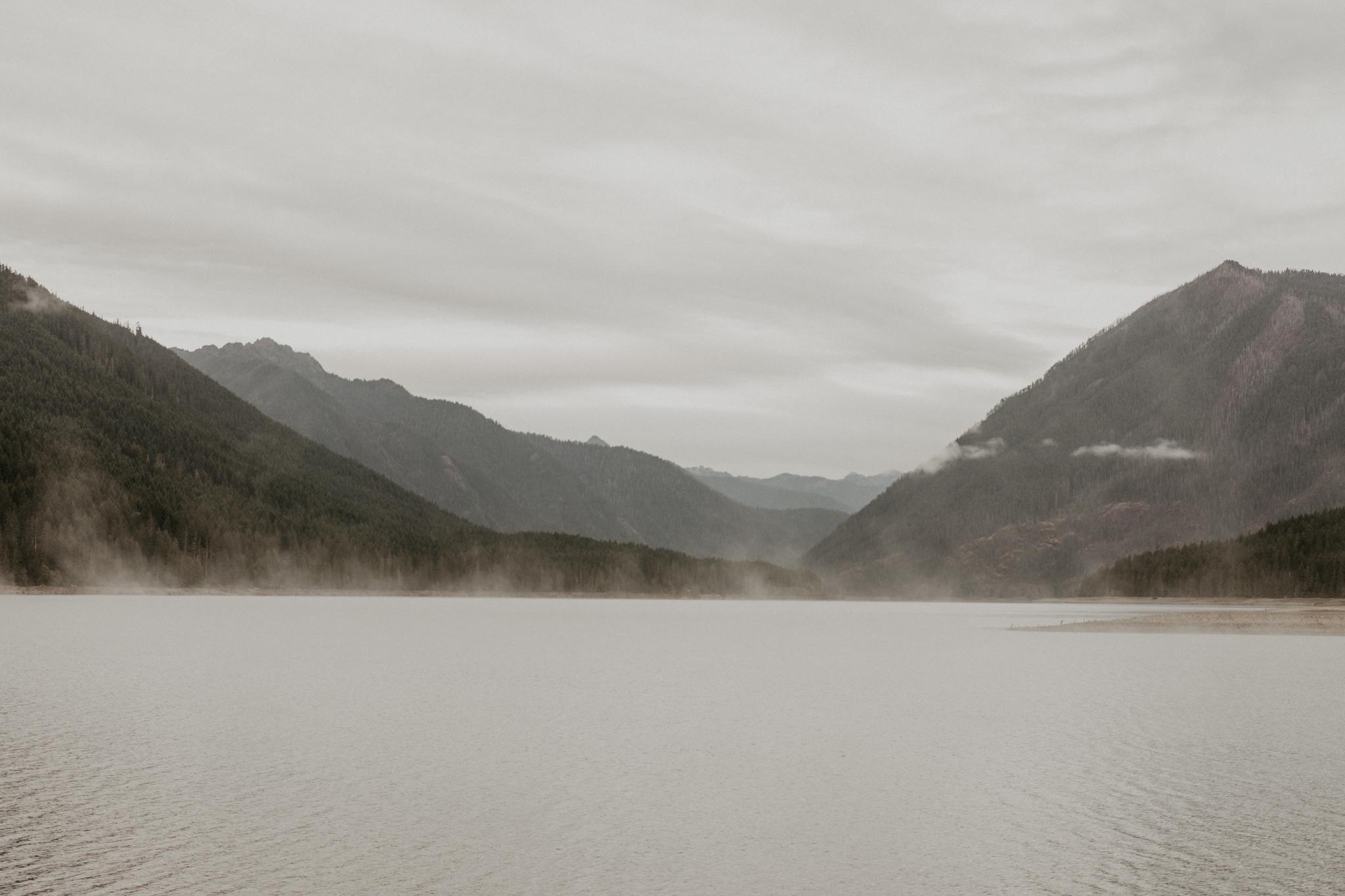 Lake Cushman, Olympic National Park