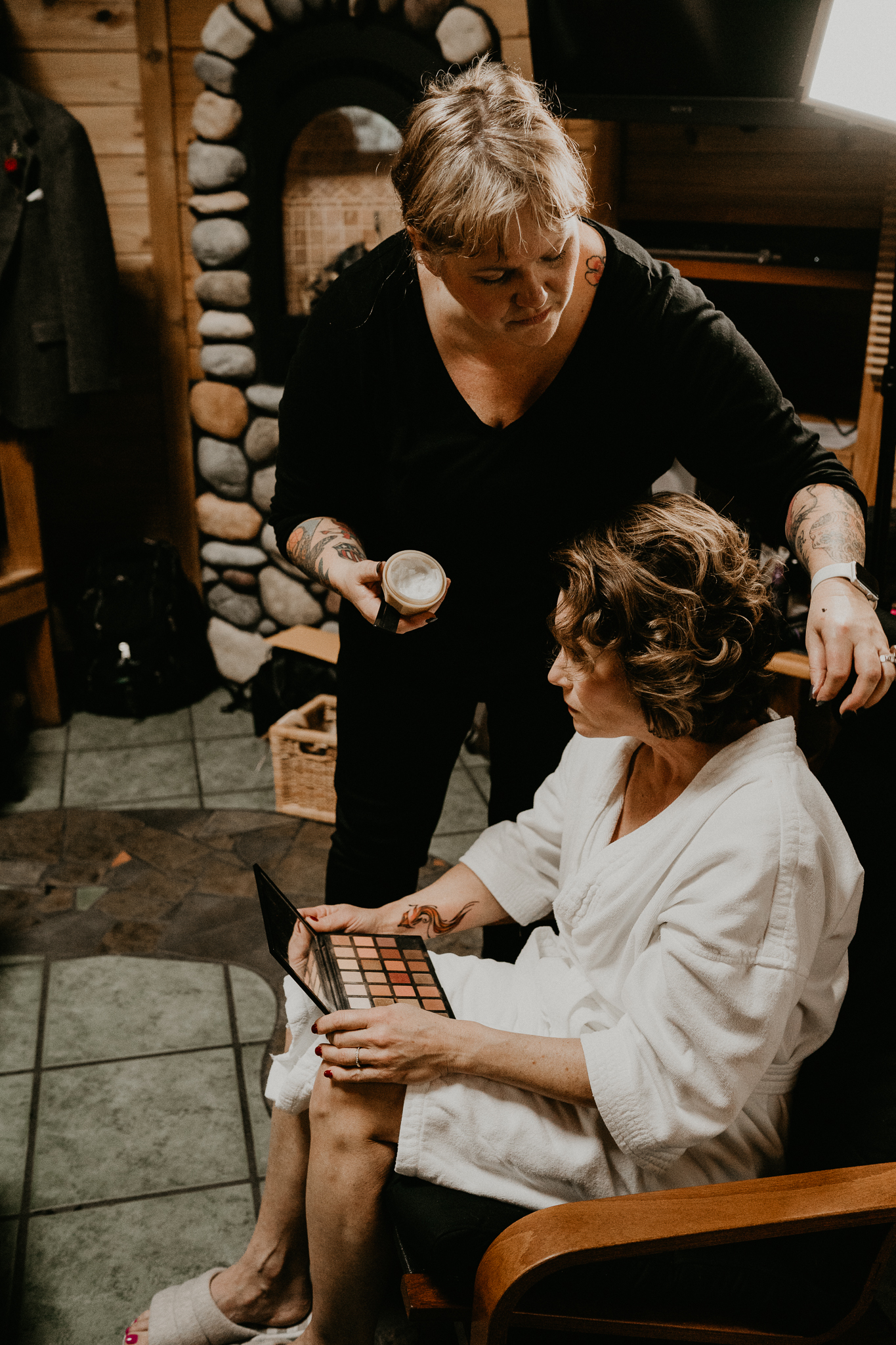 Anne Timss hair and make up artist wedding seattle washington