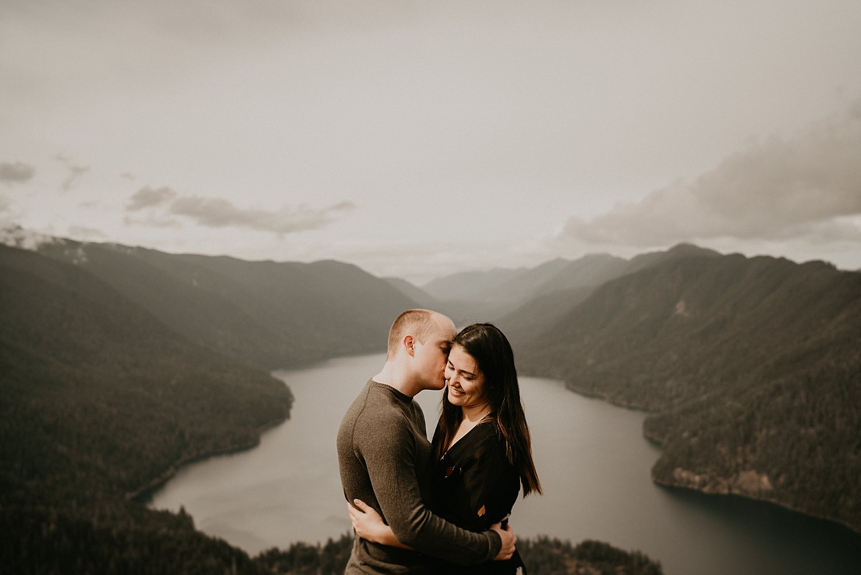 Mount storm king engagement photos olympic peninsula port angeles washington wedding seattle elopement photographer henry tieu photography stunning view hike