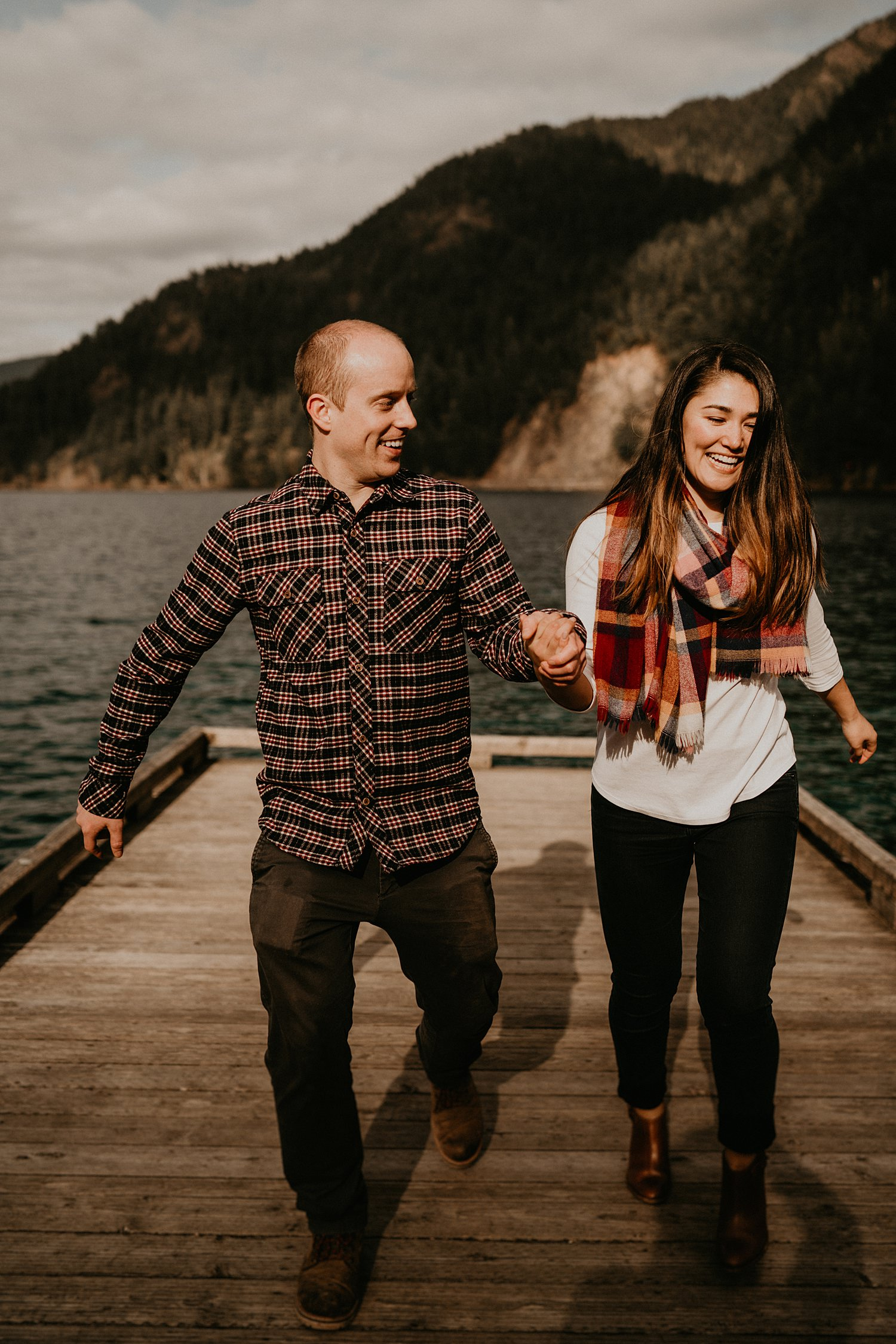 Adventurous Anniversary Photo Session in the Pacific Northwest