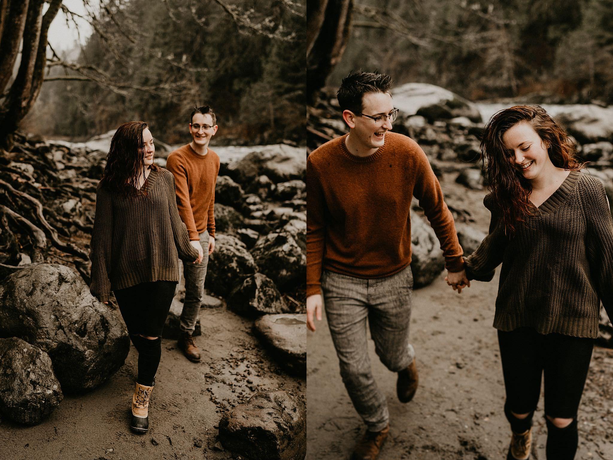 Adventure elopement in Seattle Washington