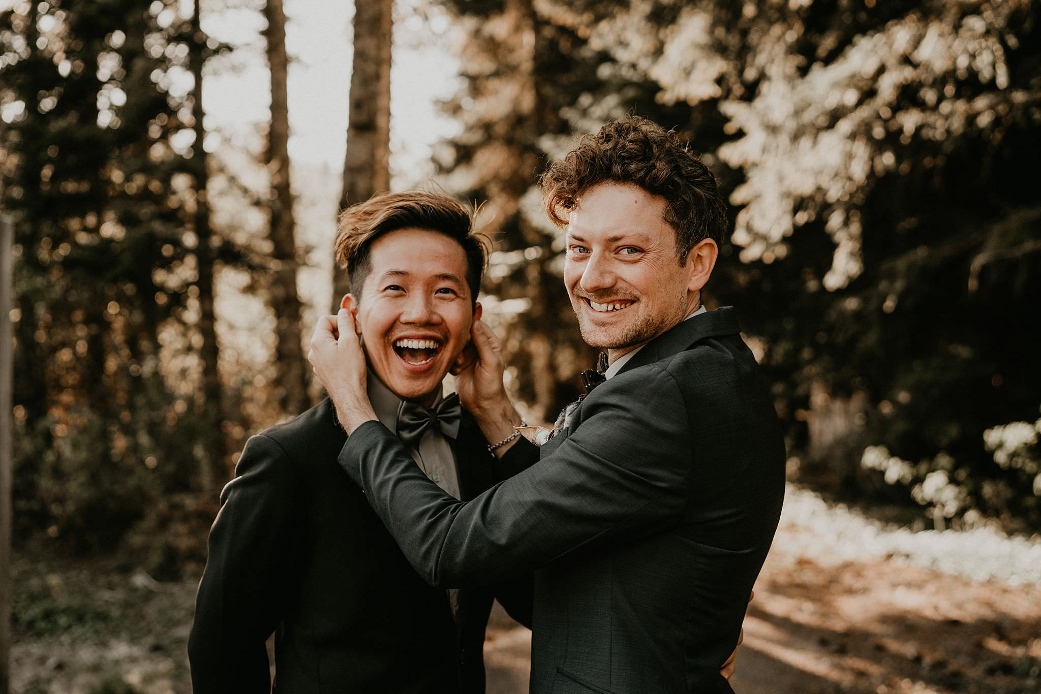 Summer elopement in the Pacific Northwest