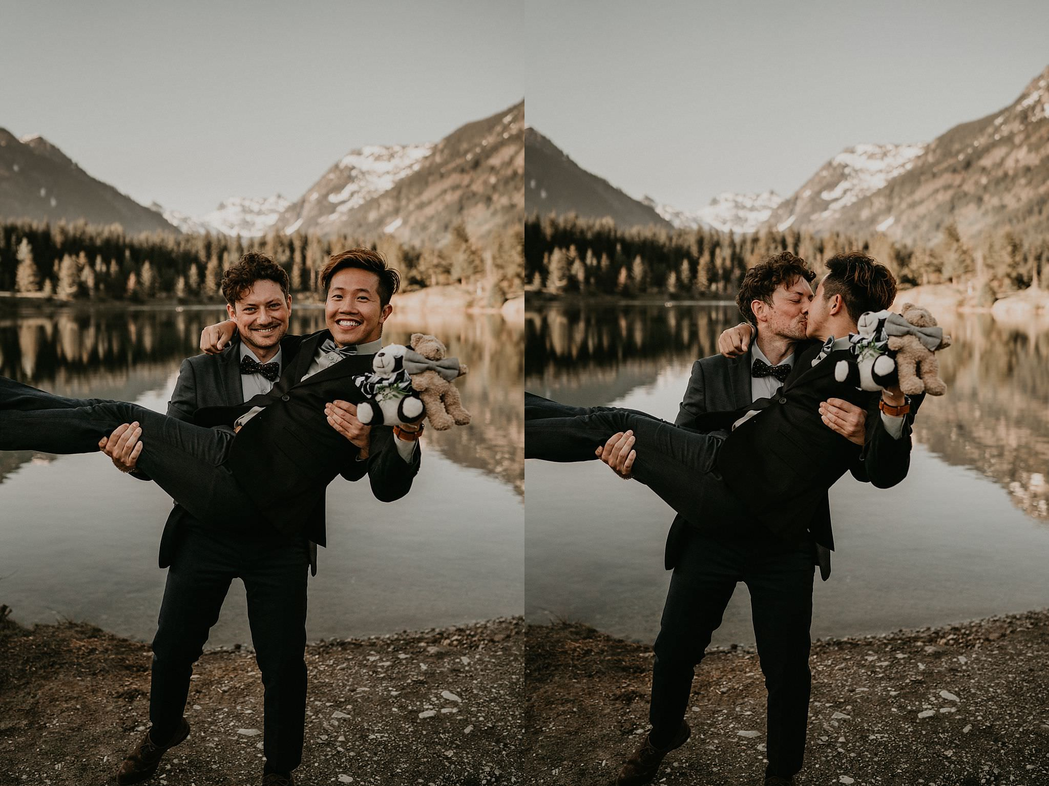 Portland best gay wedding photographer
