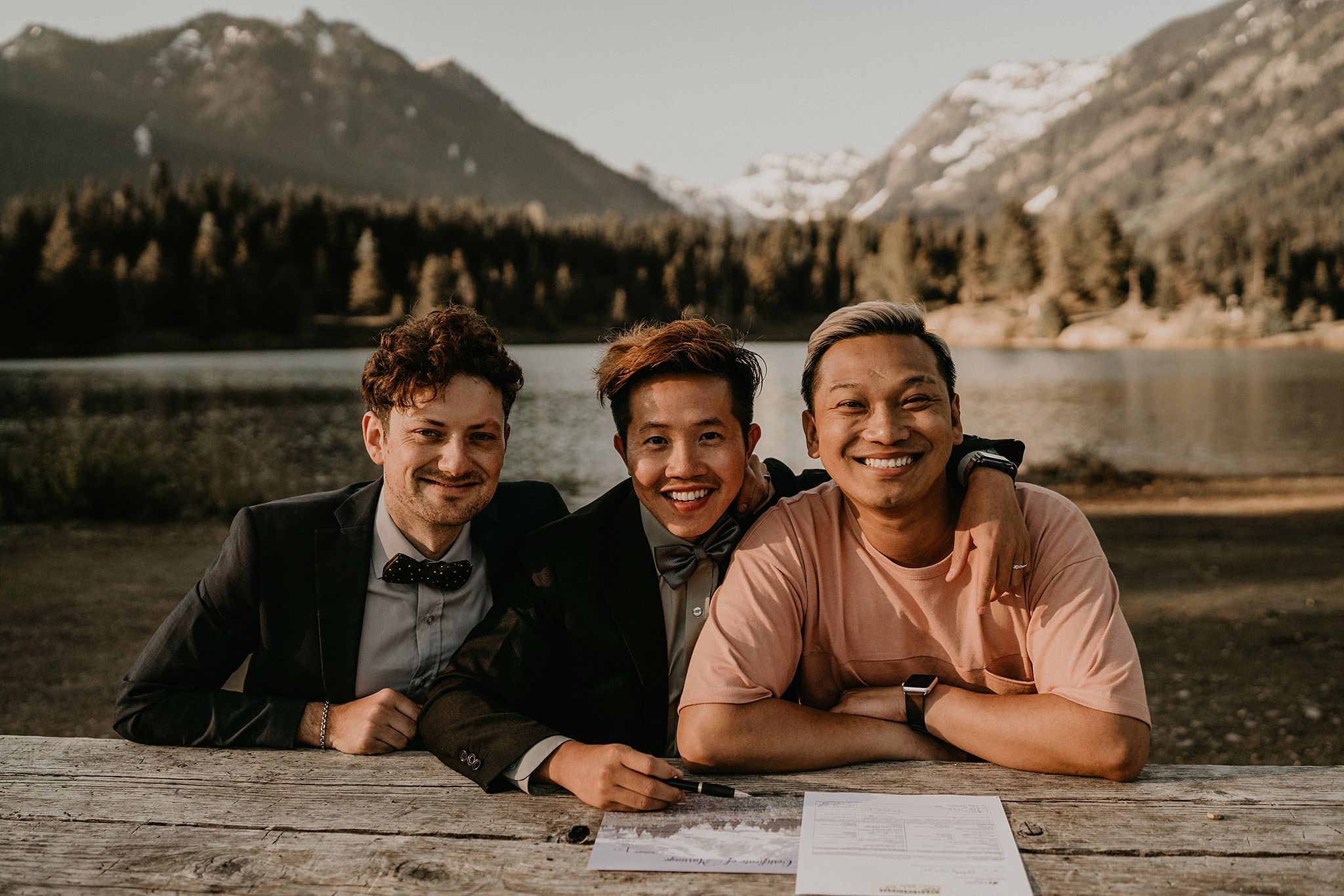 Keechelus Lake Elopement