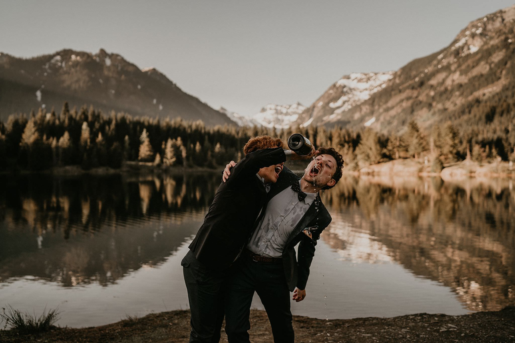 Best elopement location in Washington