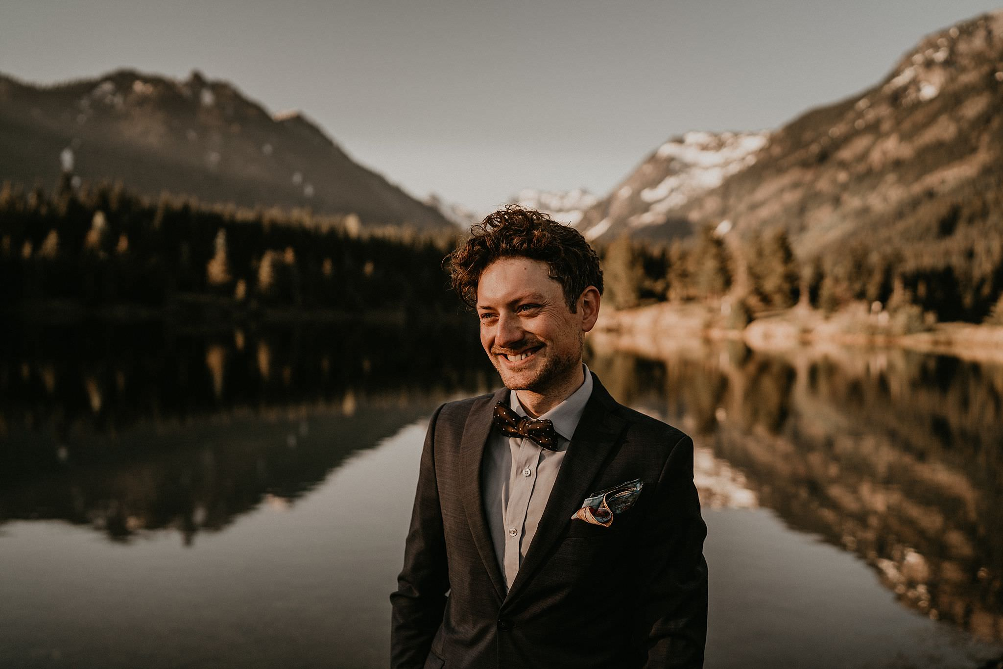 Best elopement location in the Pacific Northwest
