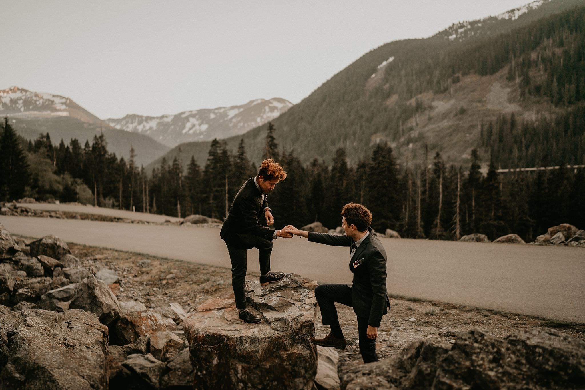 Rattlesnake Ledge Adventure Engagement