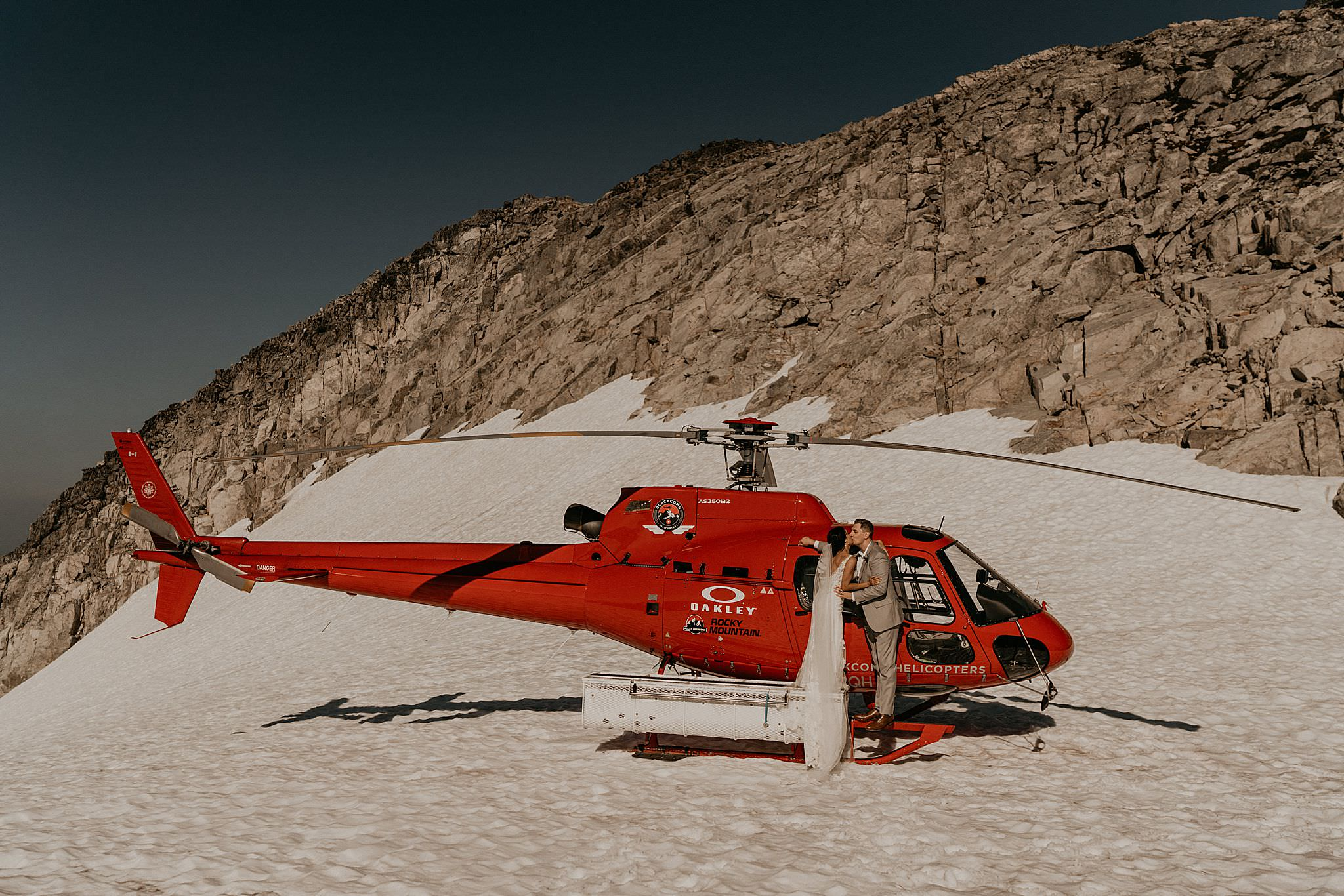 Blackcomb helicopter wedding whistler elopement
