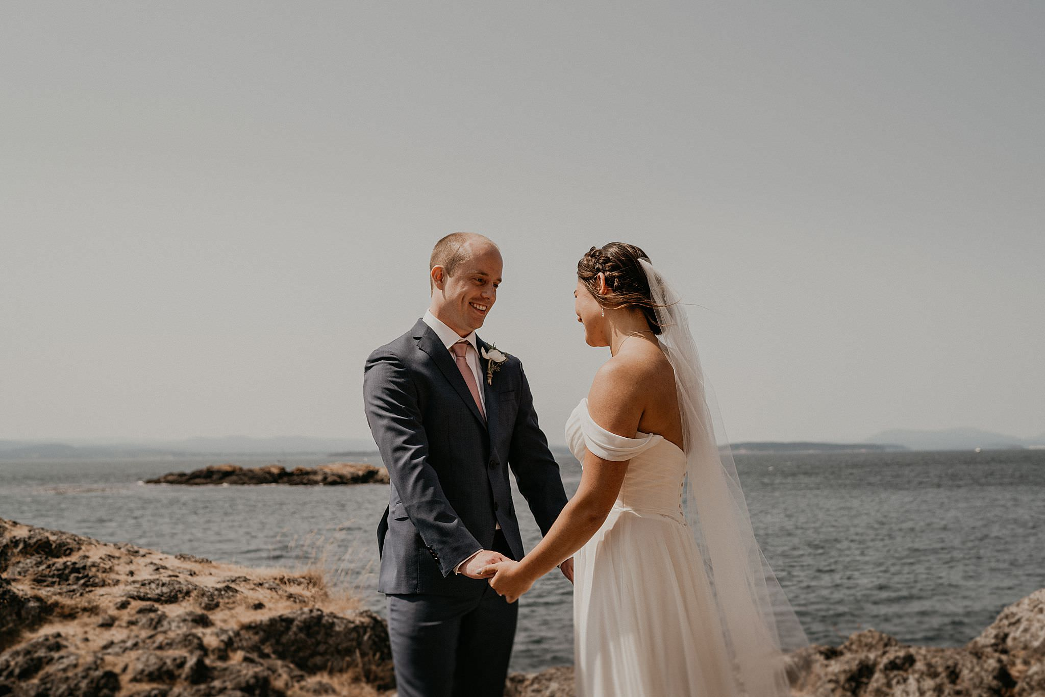 Roche Harbor Lime Kiln State Park Wedding Elopement