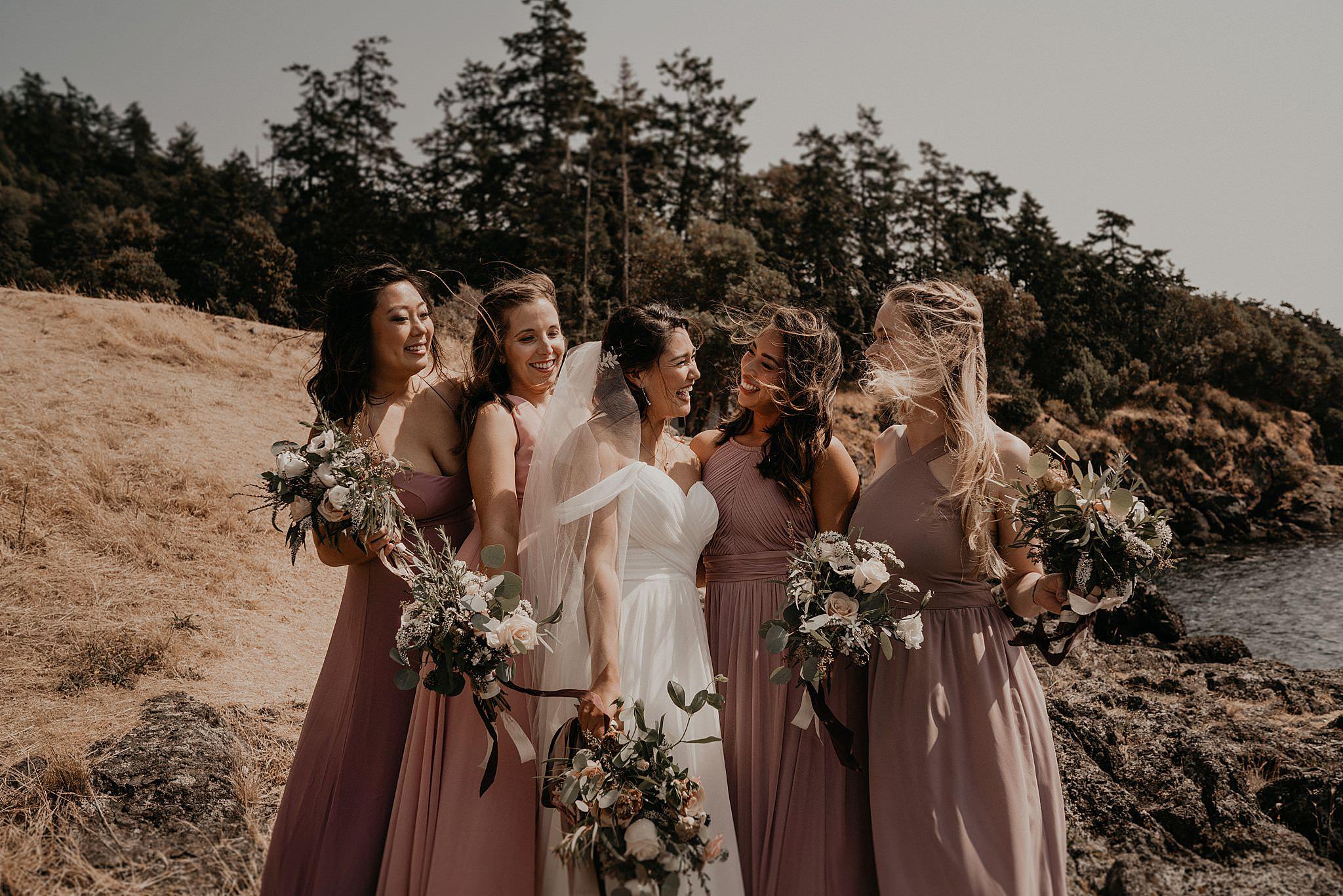 Roche Harbor Resort Wedding Bridal Parties