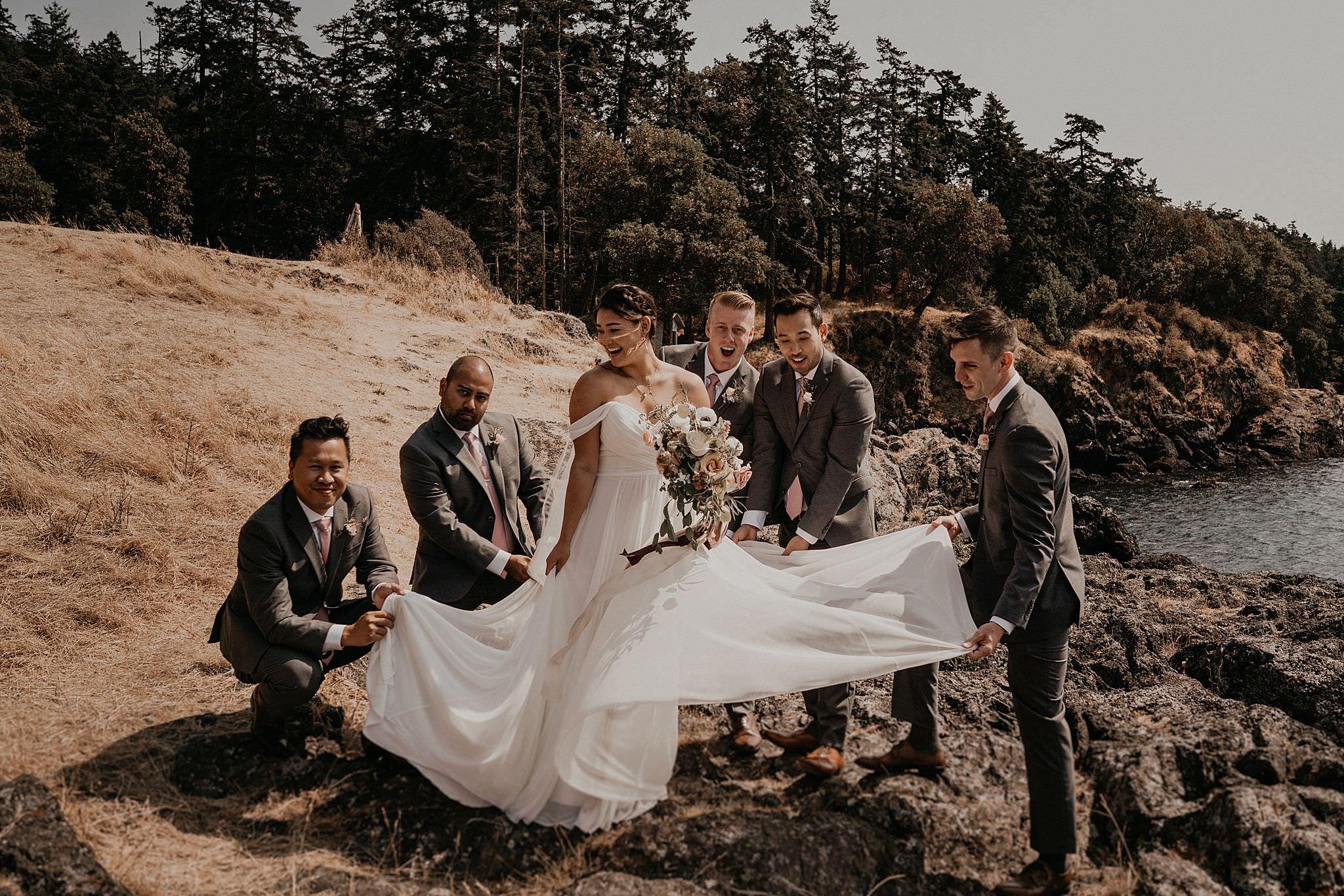 Roche Harbor Resort San Juan Island Wedding Photographer
