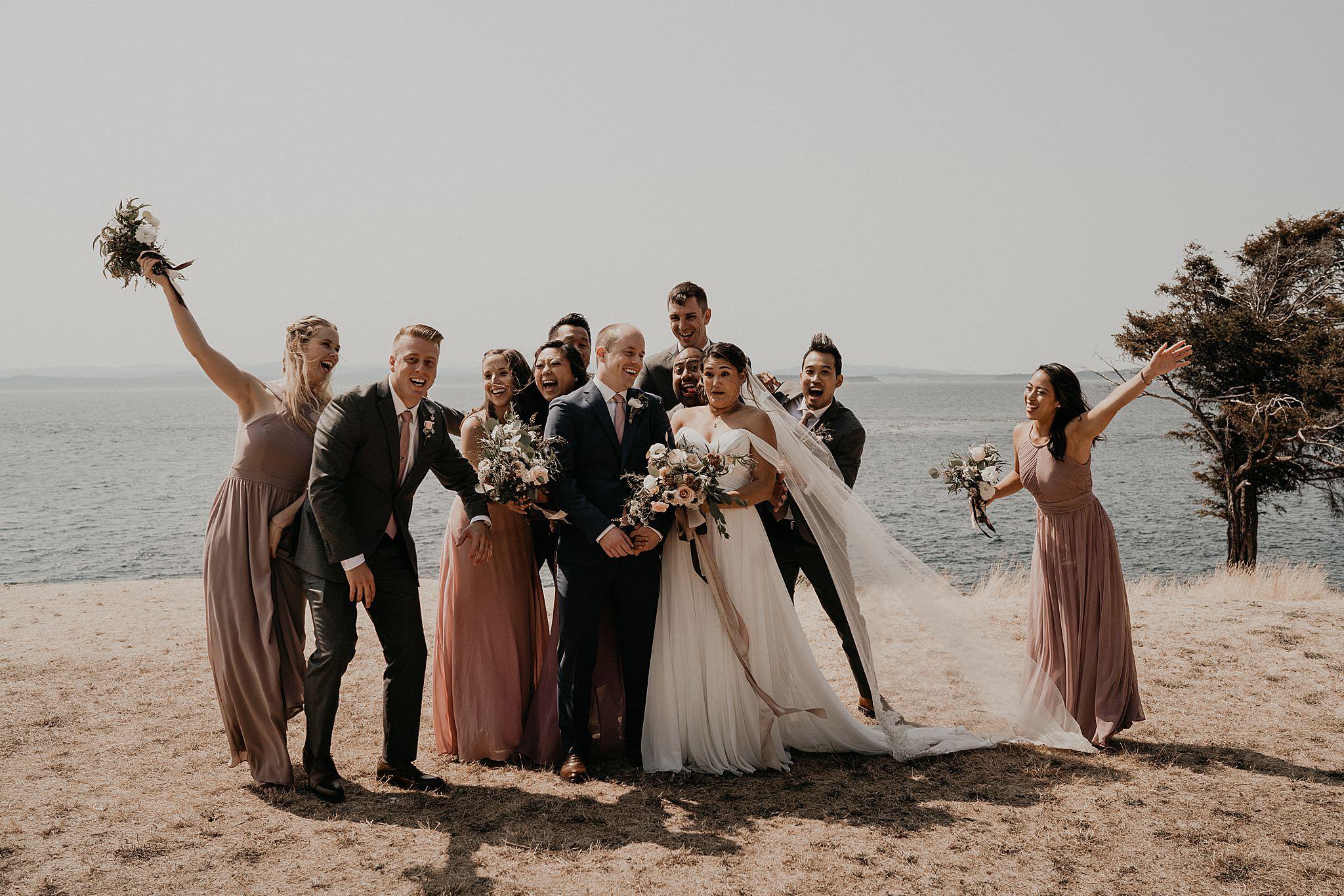 Roche Harbor Resort Wedding Photographer San Juan Islands
