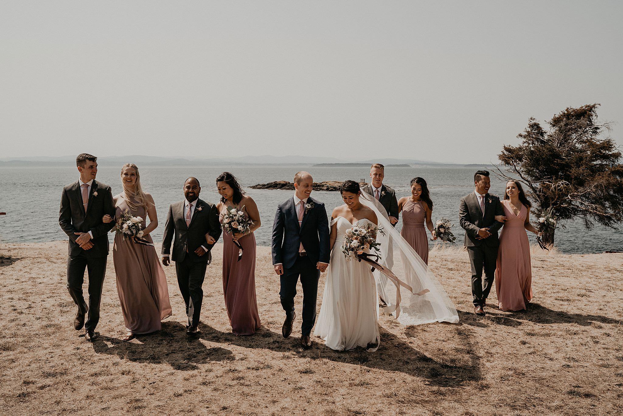 Roche Harbor Resort Lime Kiln Wedding Photographer