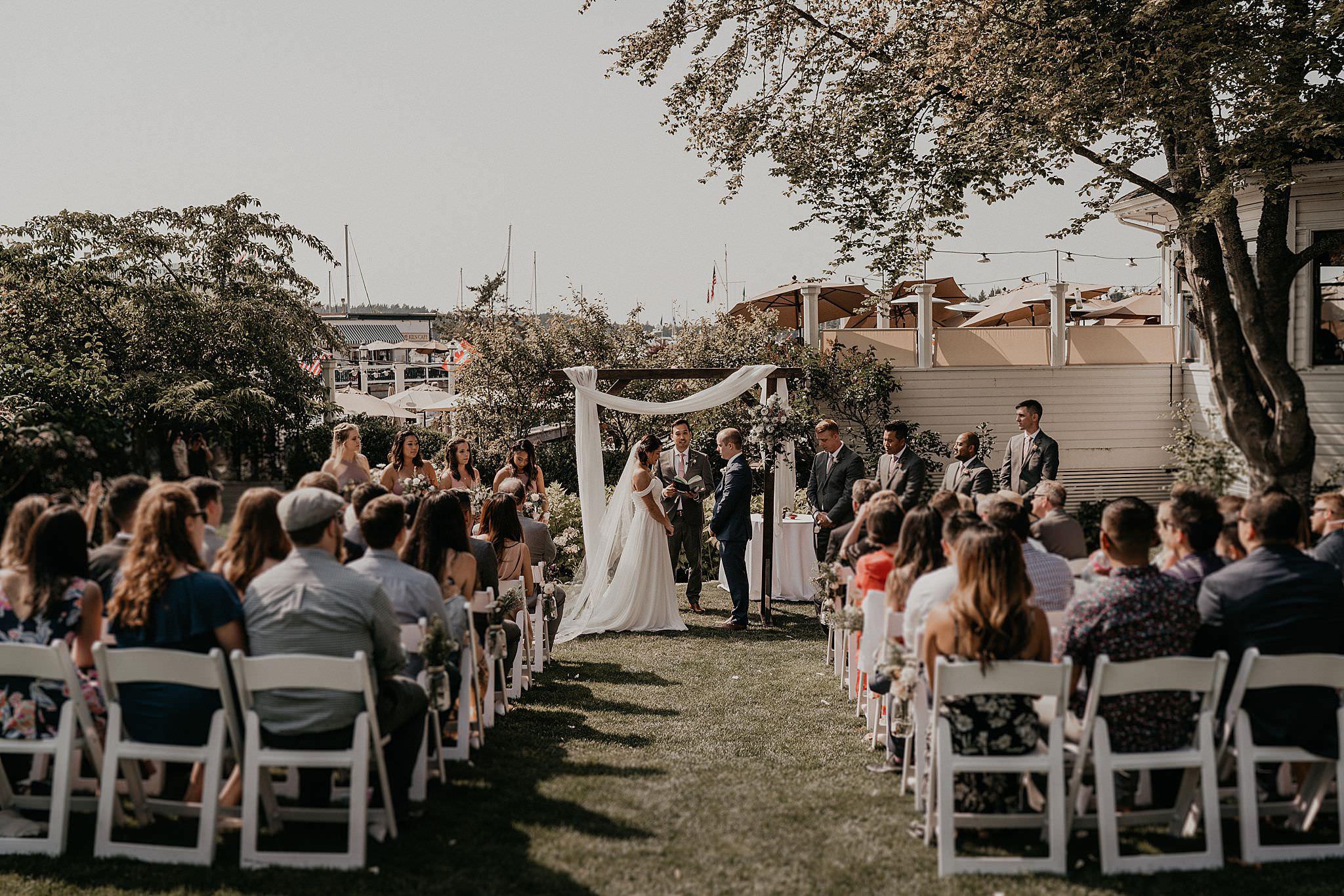 Roche Harbor Wedding Photographer