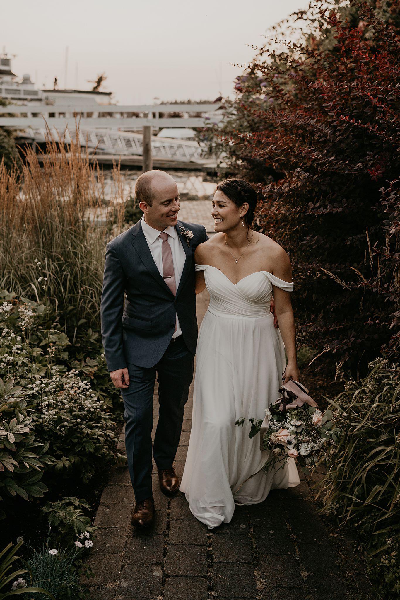 Roche Harbor resort wedding photographer
