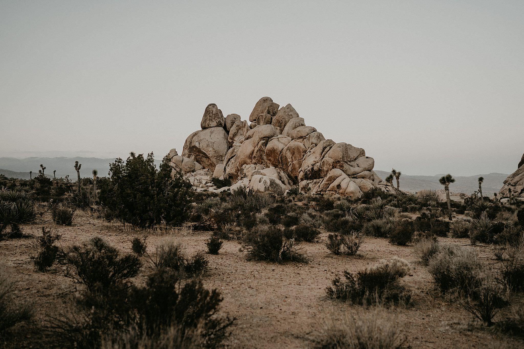 Joshua Tree National Park Skull Rocks Hidden Valley Trail