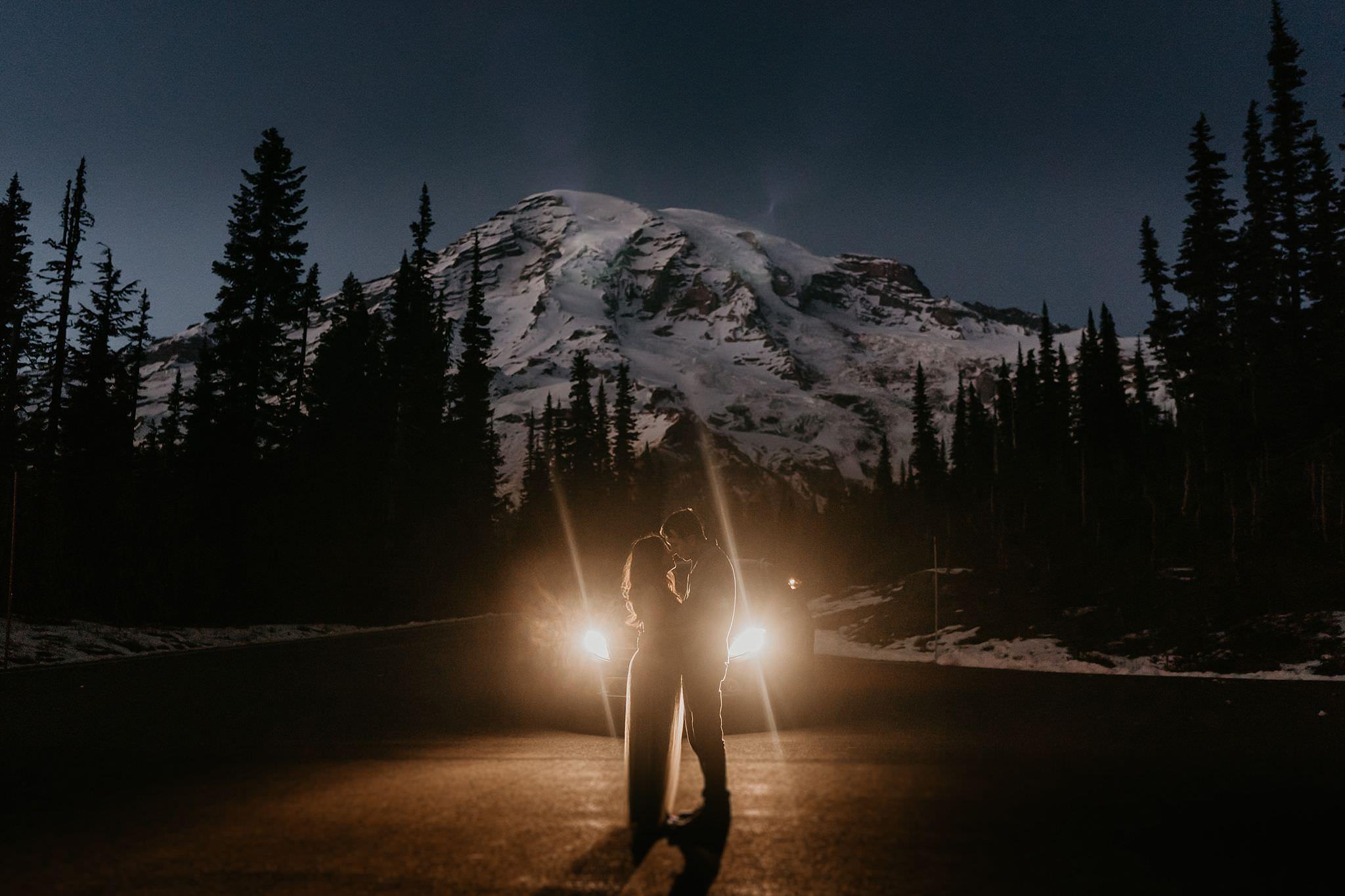 Mount rainier national park adventure elopement