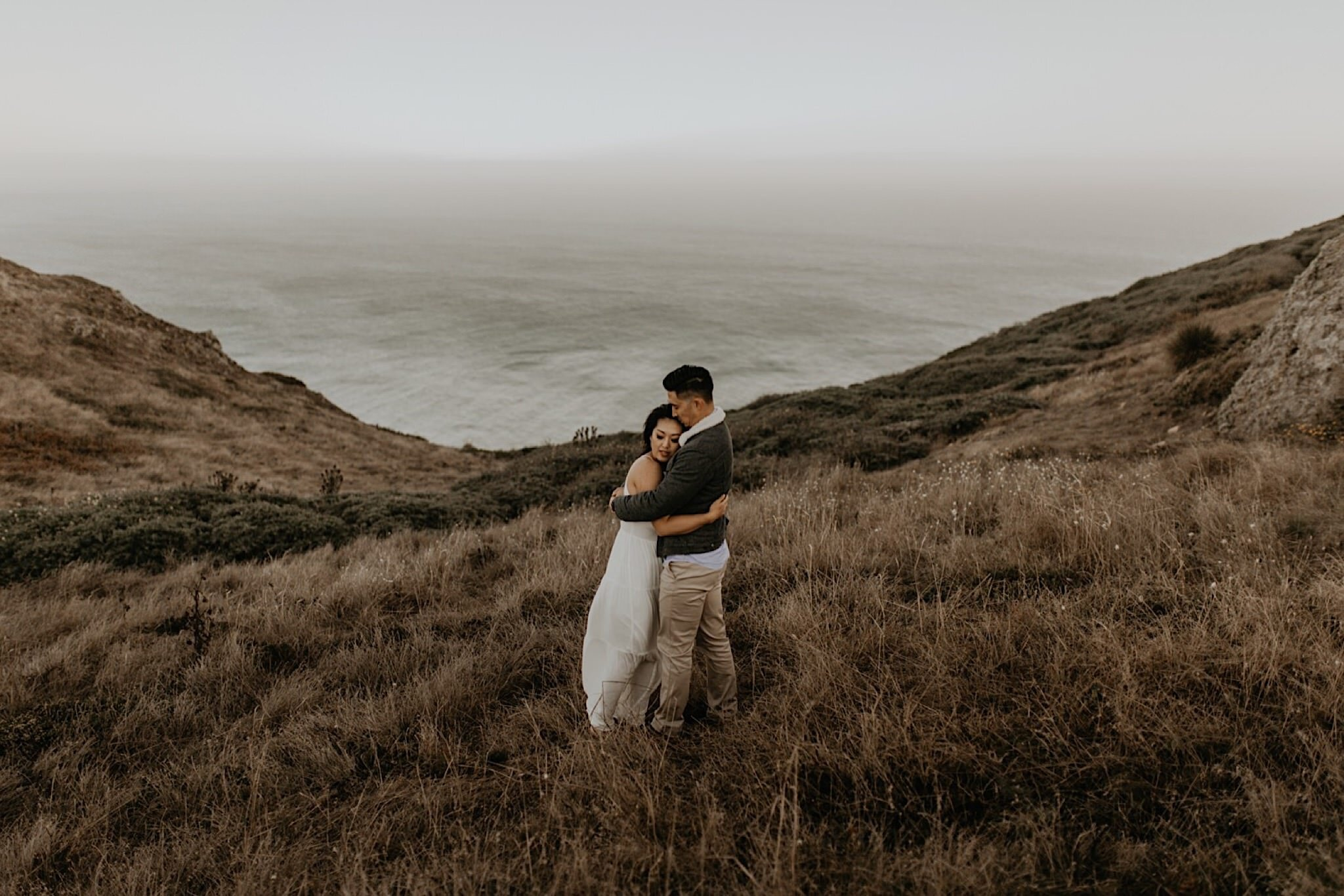Romantic point Reyes engagement photos best location around bay area and san francisco