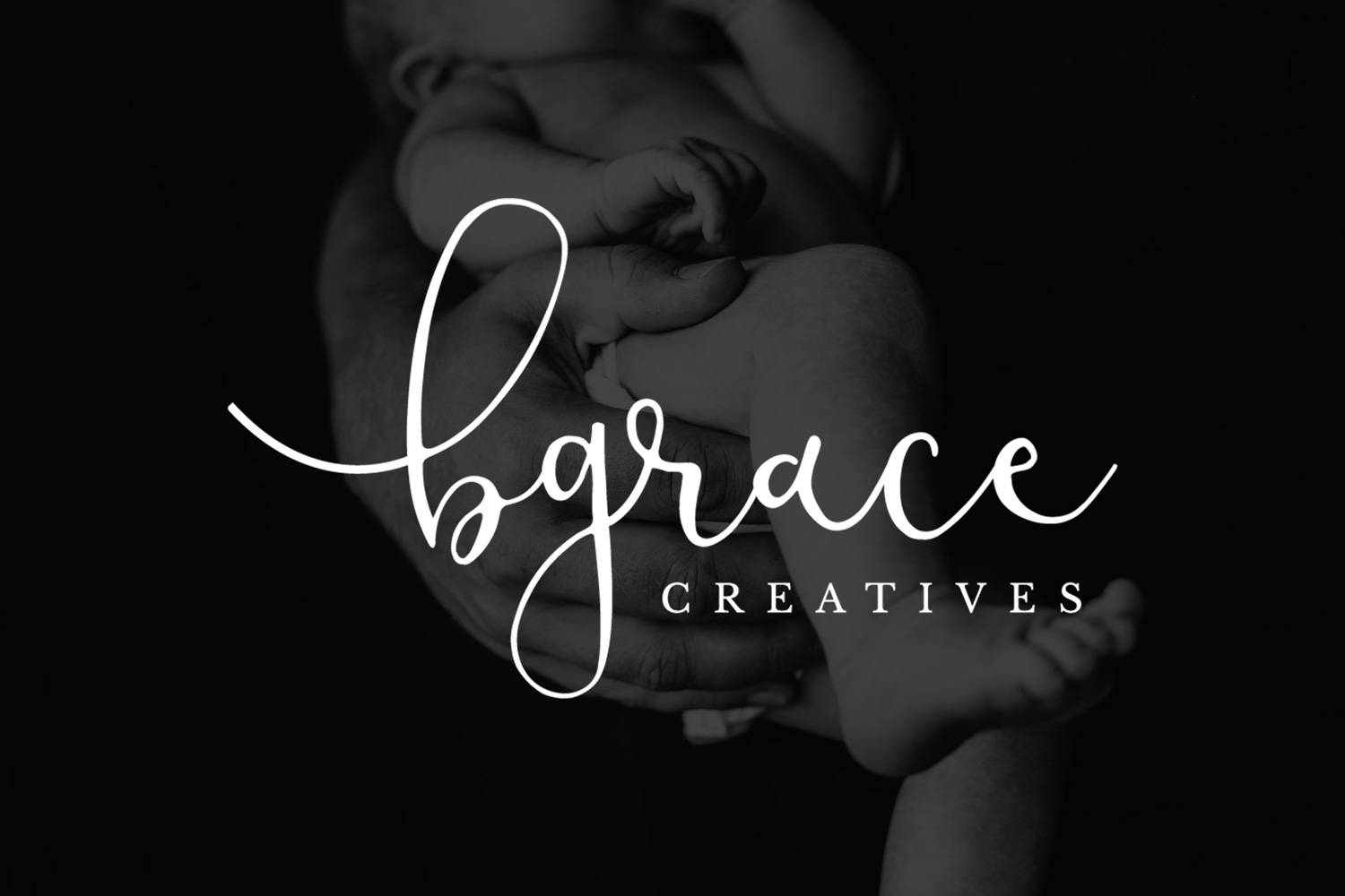 "kind words - ""You are the BEST, Kait! I am in LOVE with my logo and have put it all over EVERYTHING!! <br>Thank you to the moon and back for this xxo""Bethany, B.Grace Creatives"