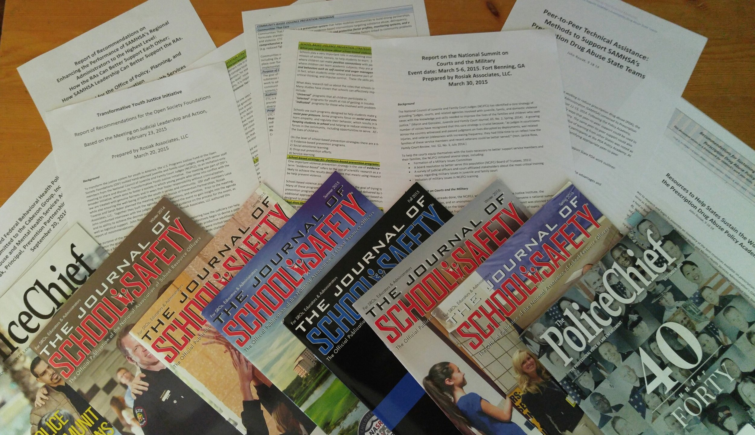 Prevention Partnerships has developed research reports, recommendations, curricula, event summaries, and articles. See    CLIENTS    menu for more details about documents produced for clients, and    PUBLICATIONS    for samples of articles written.