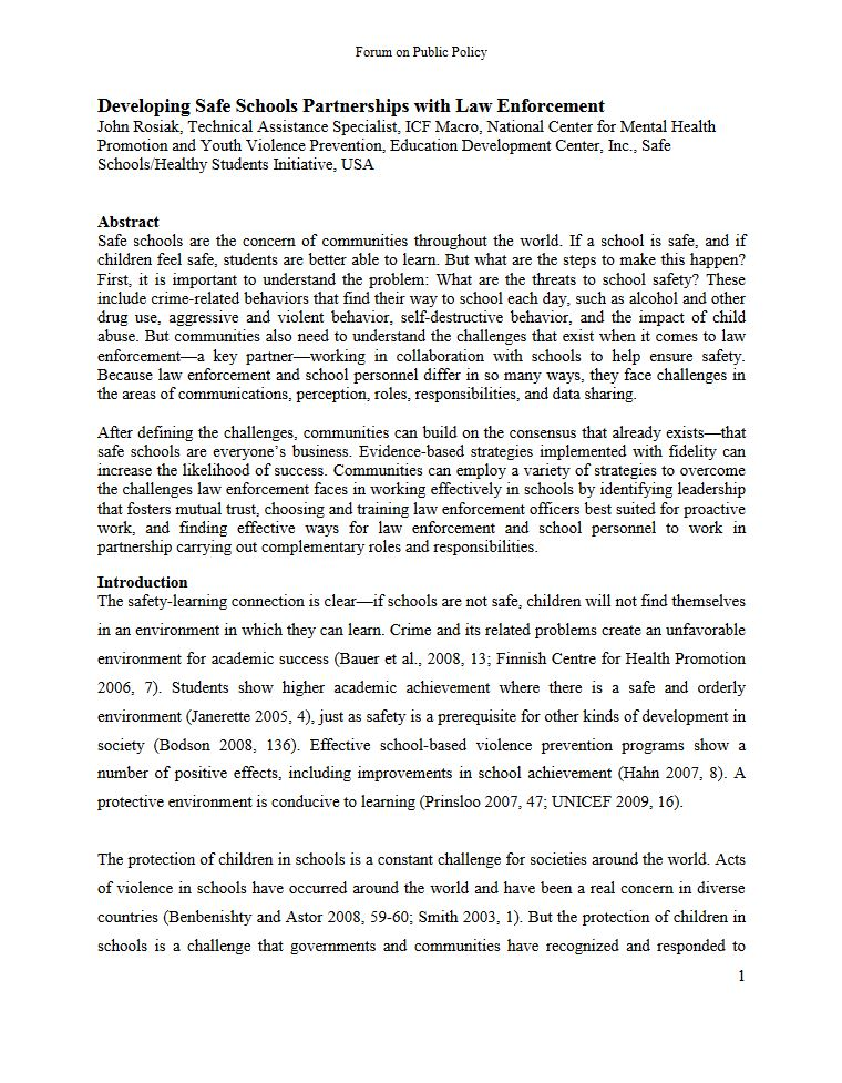 Academic article appearing in the Forum on Public Policy that followed a presentation of the same name at the Oxford Roundtable in March 2009.