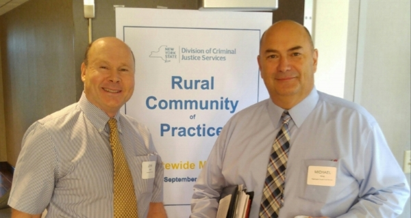 Developed and led the NY state Rural Community of Practice for New York's Division of Criminal Justice Services.