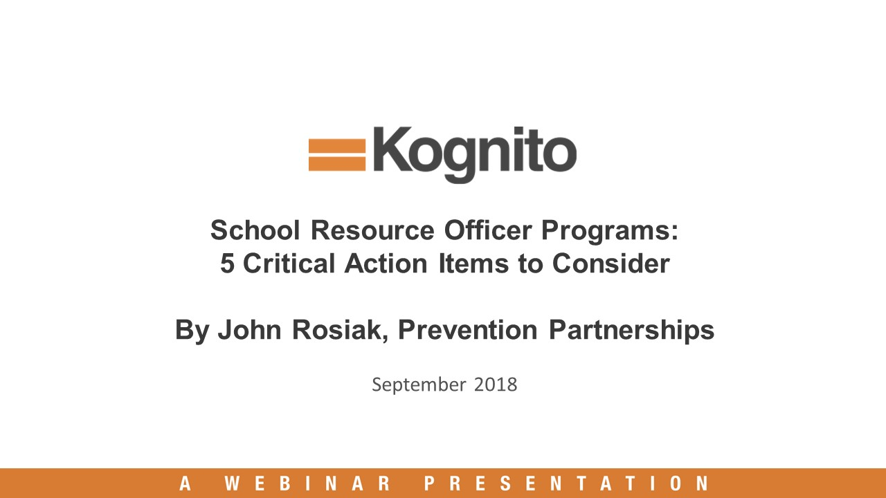 The recording is available through the Kognito website via the link below. You will need to enter your contact information to view it.    Webinar Recording